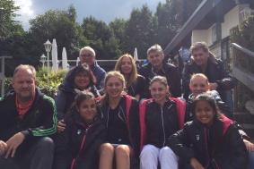 Die U18-Juniorinnen des TCB sind NRW-Meister