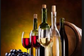 Exklusive Weinverkostung in der Clubgastronomie