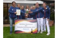 Damen 40  Deutscher Meister