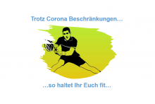 Fit bleiben durch Home-Training