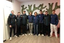 Das Junior-Team des TCB auf Reisen